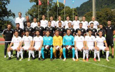 Saisonauftakt der 1. Mannschaft des FC Glarus