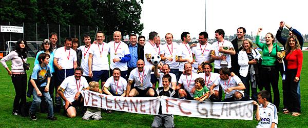 Vor 12 Jahren wurden die Veteranen des FC Glarus Schweizer Meister