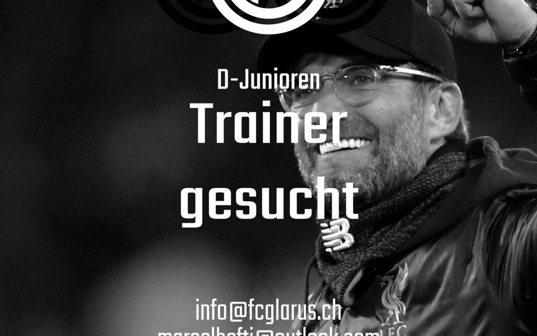 D-Junioren Trainer gesucht