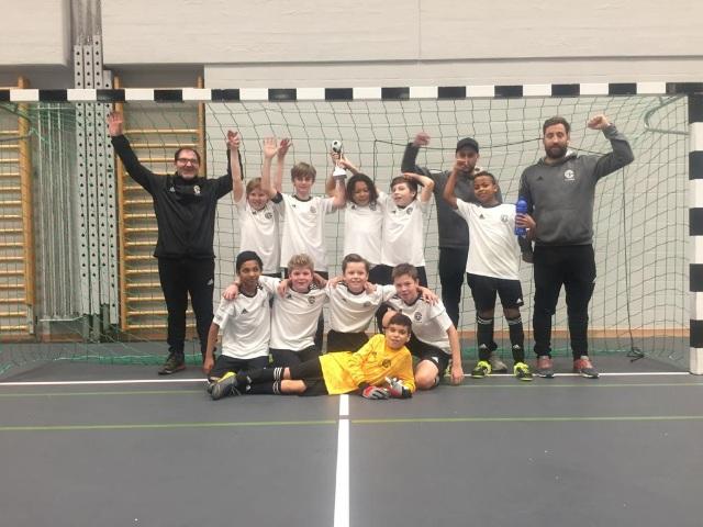 D-Junioren gewinnen Hallenturnier in Rapperswil-Jona