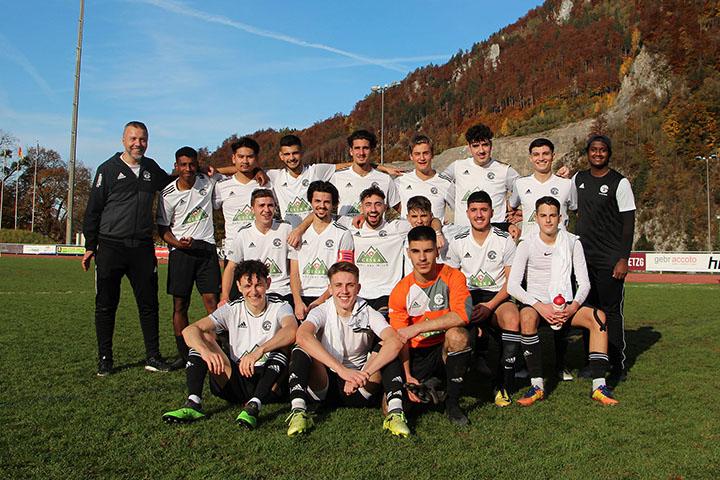 A-Junioren - FCG vs FC Thusis-Cazis
