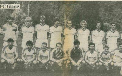 Vor 33 Jahren stieg der FC Glarus in die NLB auf