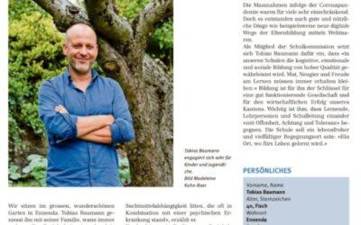 Tobias Baumann – G-Junioren Trainer FC Glarus